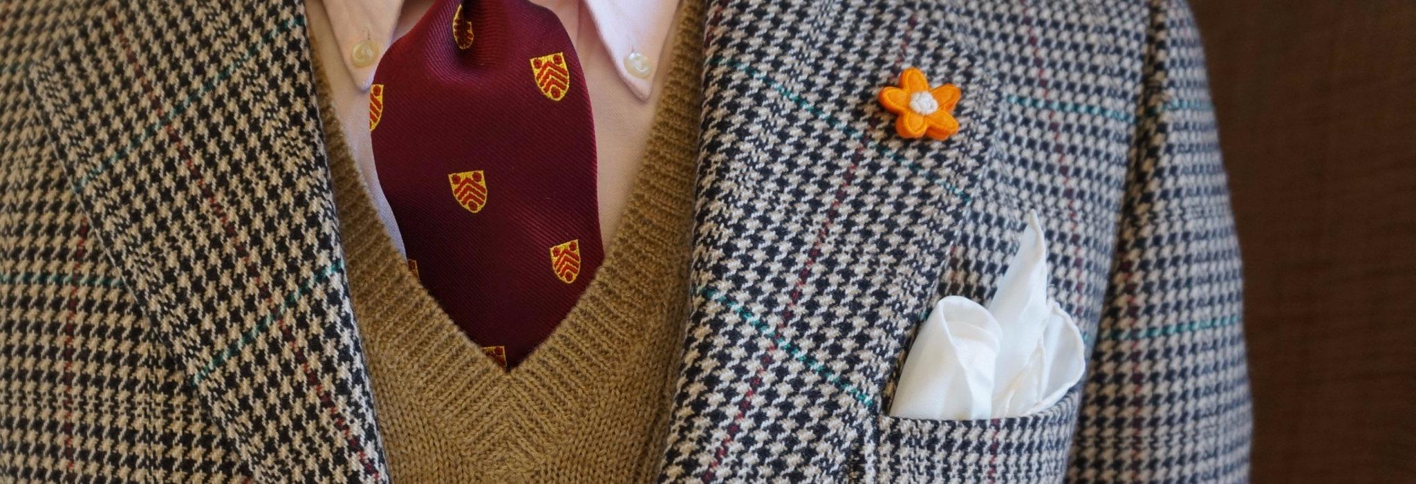 ジャケットを楽しむための小粋なアイテム。胸元を彩るブートニエールとは。_image
