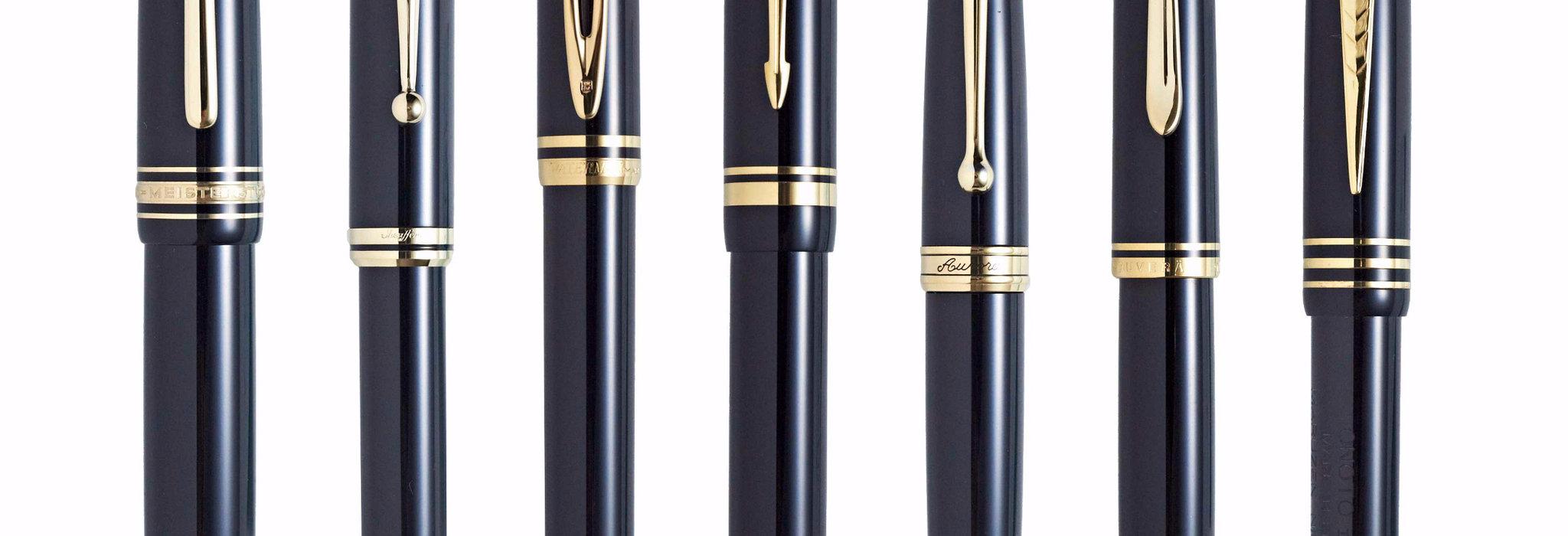 万年筆の原点である黒×金の仏壇万年筆を比較分析!_image