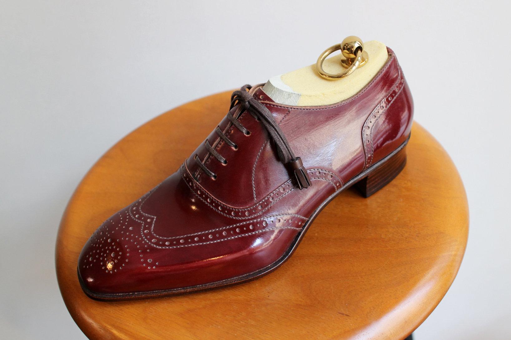 対談の中に出てくる八巻さんの「きっかけ」となった靴
