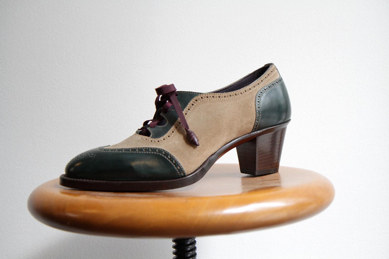 Andanteでは、女性用の靴も制作している