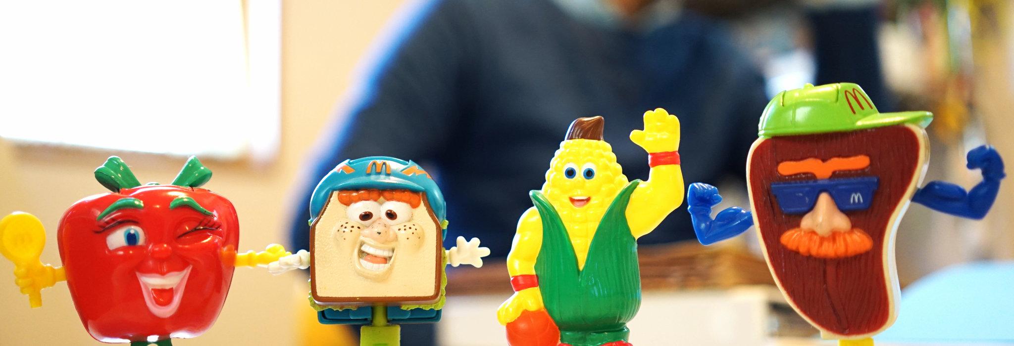 ハッピーセットのおもちゃ。大人心をも魅了するキッチュでポップなミールトイの世界とは。_image
