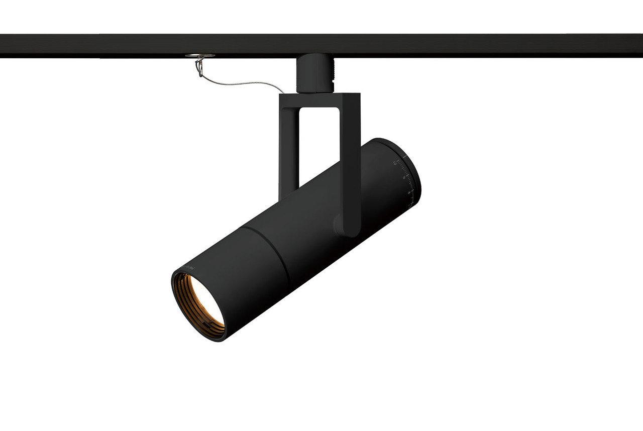 個別調光機能付 LED高演色スポットライト(黒)