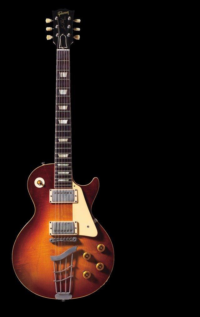 Gibson Les Paul 1959(撮影:植田山月、提供:リットーミュージック)