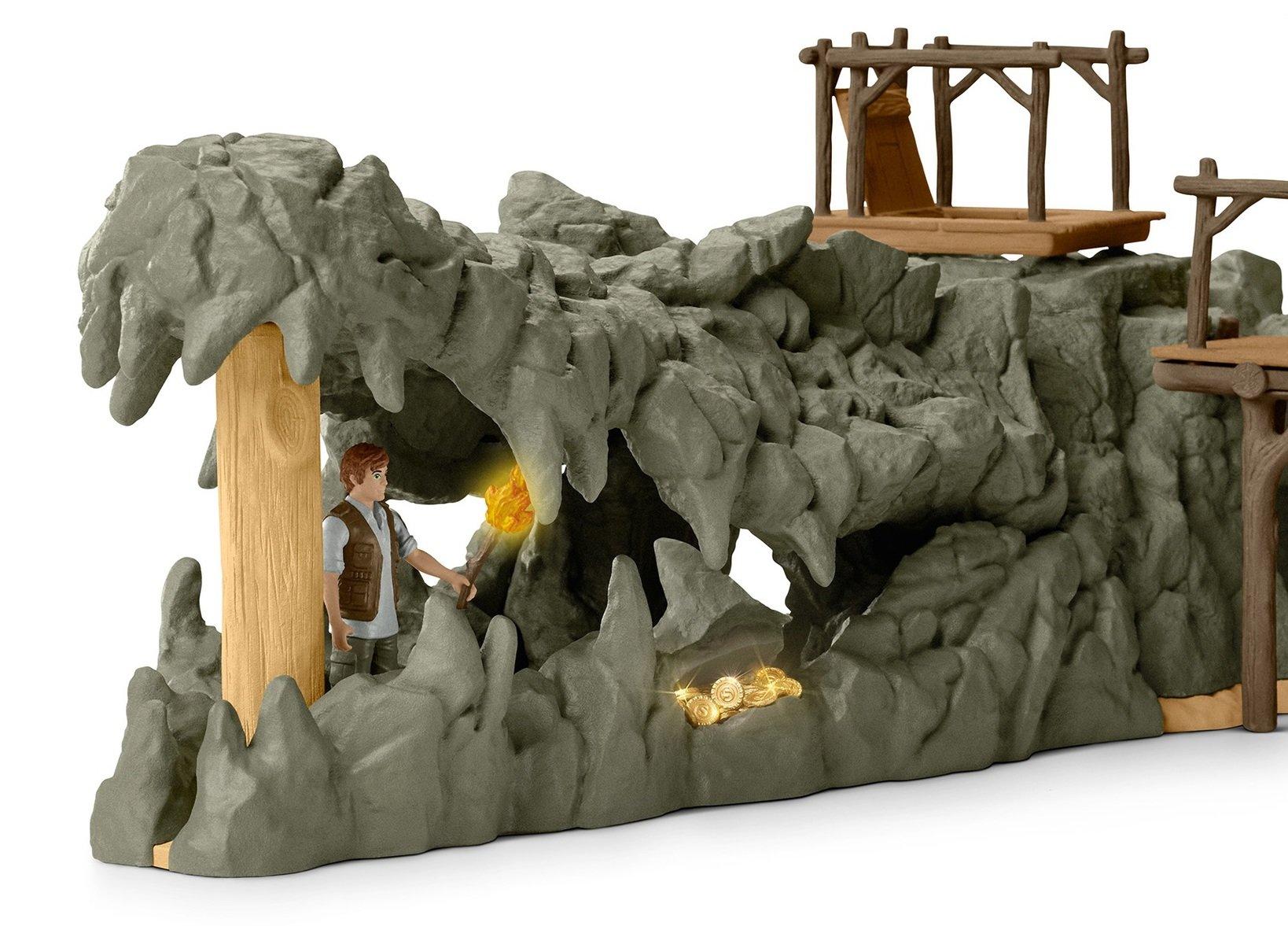 CROCOは開閉できます。口の中は洞窟になっていて、秘密の隠し場所として遊べます。