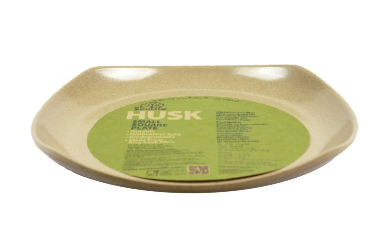Husk  Square Plate Small_image