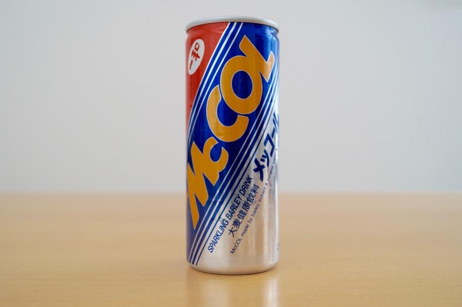 飲料缶「メッコール」1990年 [飲料缶]   みんなの飲料品缶・ビンコレクション by Muuseo (ミューゼオ)