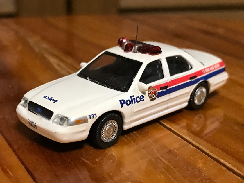 ford crown victoria police interceptor cn police モデルパワー製