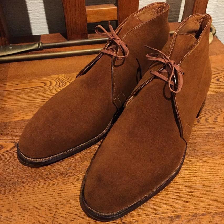 Maxwell bespoke chukka boots 1970s