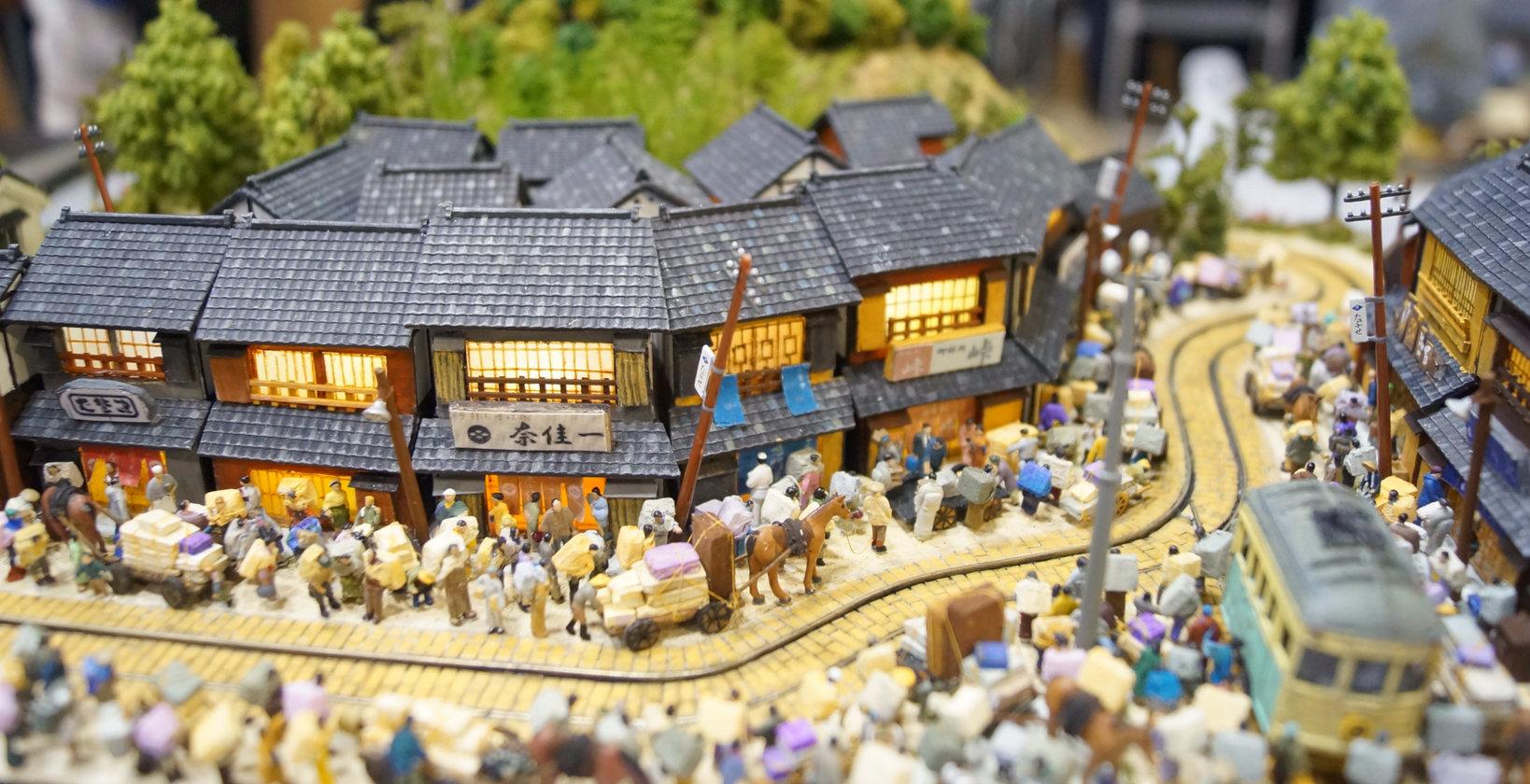 風たちぬ風ジオラマ「大震災後の上野広小路」