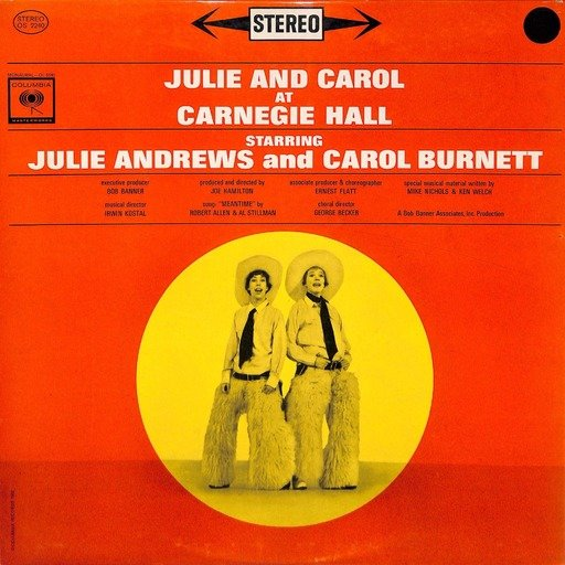 Julie and carol at carnegie hall os 2240