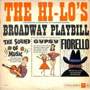 The hi lo 27s roadway playbill  28cl 1416 29