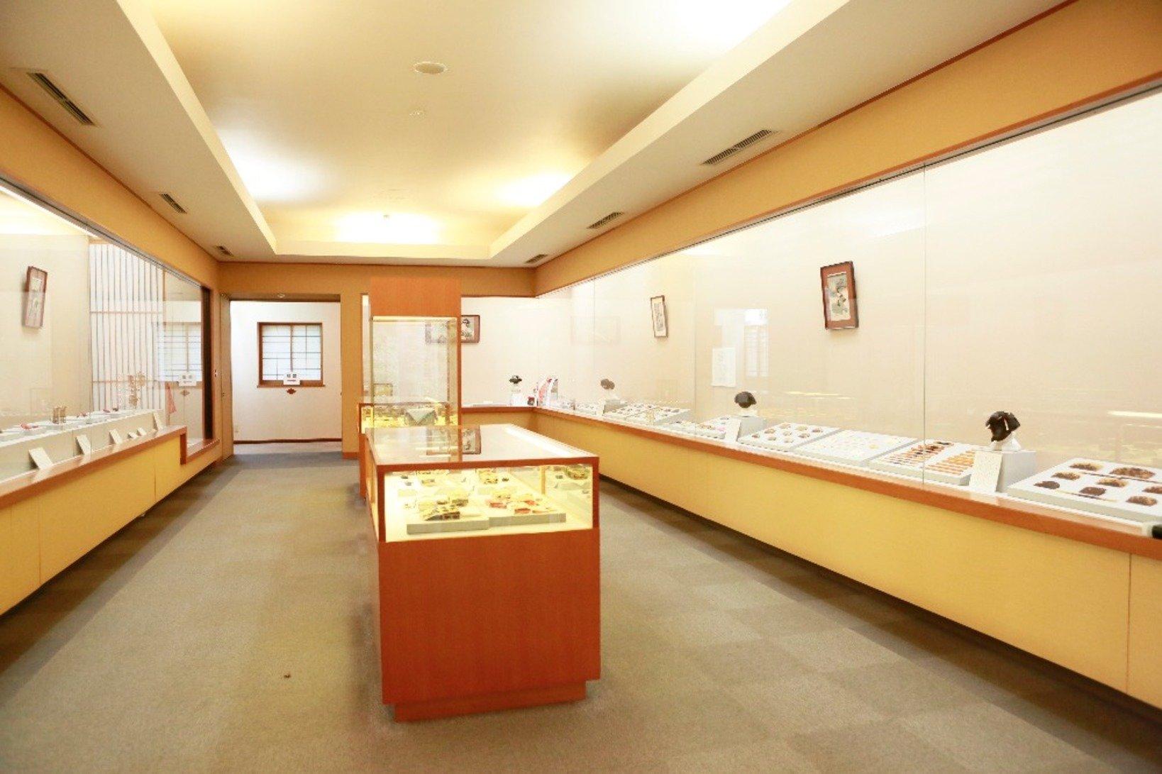 江戸時代を中心に展示している第1展示室