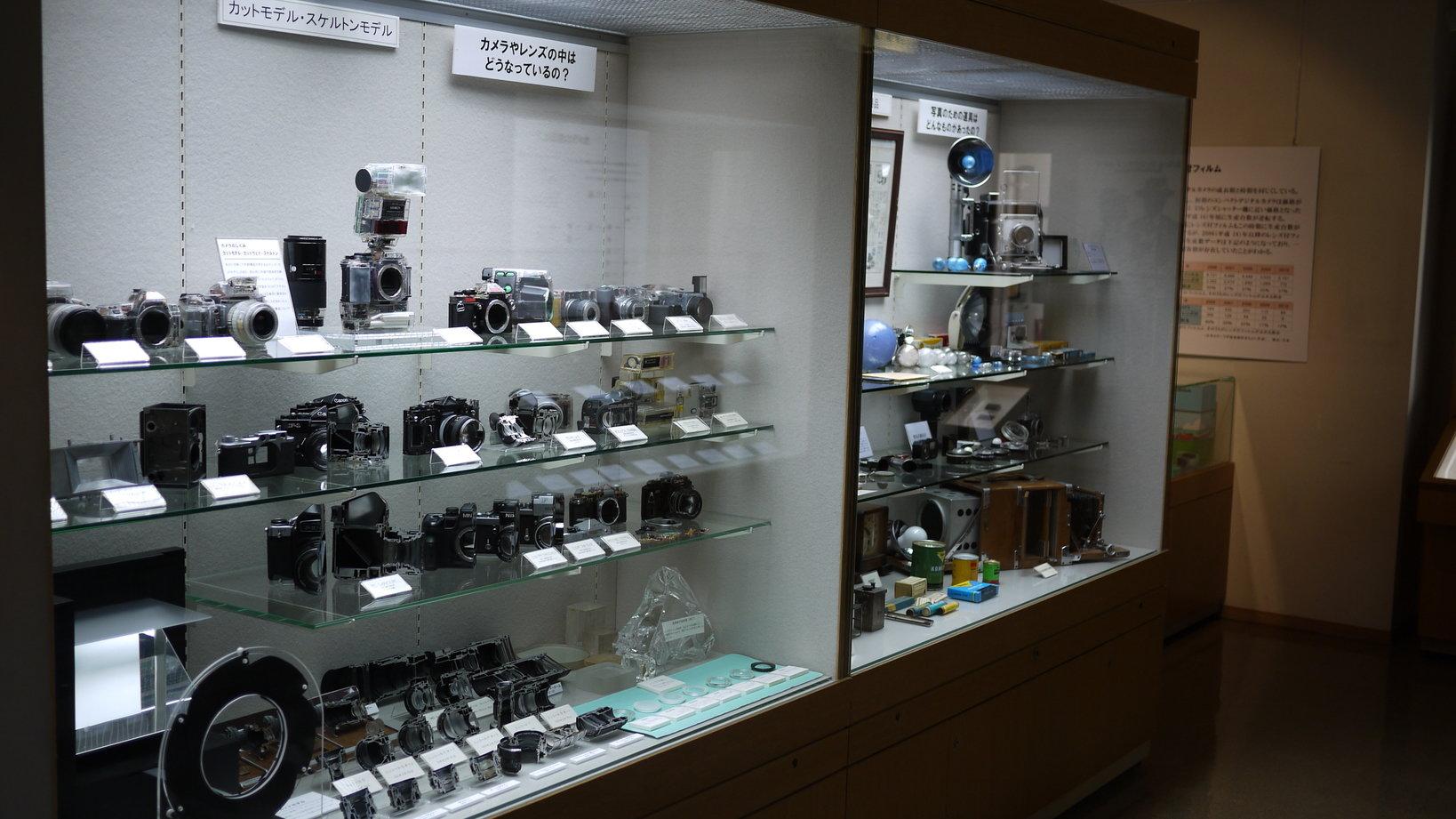 カメラの種類や仕組みなども、分かりやすく説明