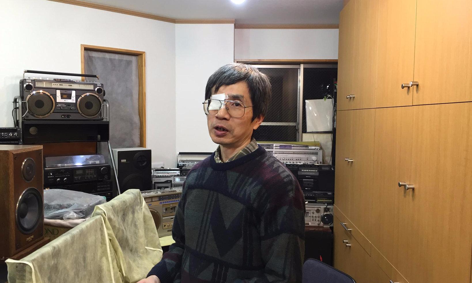 館長の中村さん。とても丁寧に説明をしてくれました。