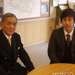 葛飾柴又 寅さん記念館 館長の小嶋さん(左)と広報の横山さん。_image