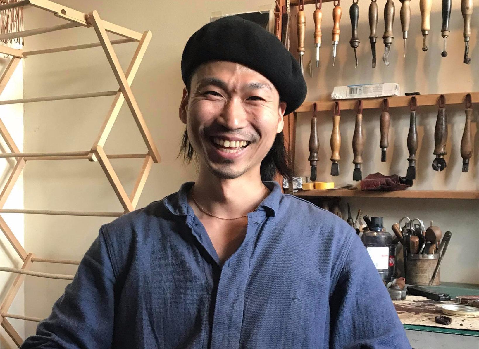 ロンドンで活躍する若き職人、和田寛世(かんせい)さん