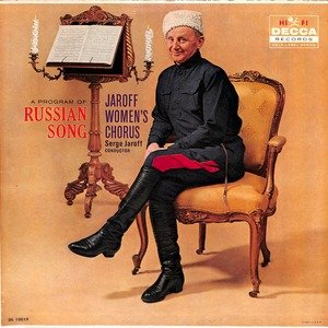 Serge jaroff russian song  28dl 10019 29