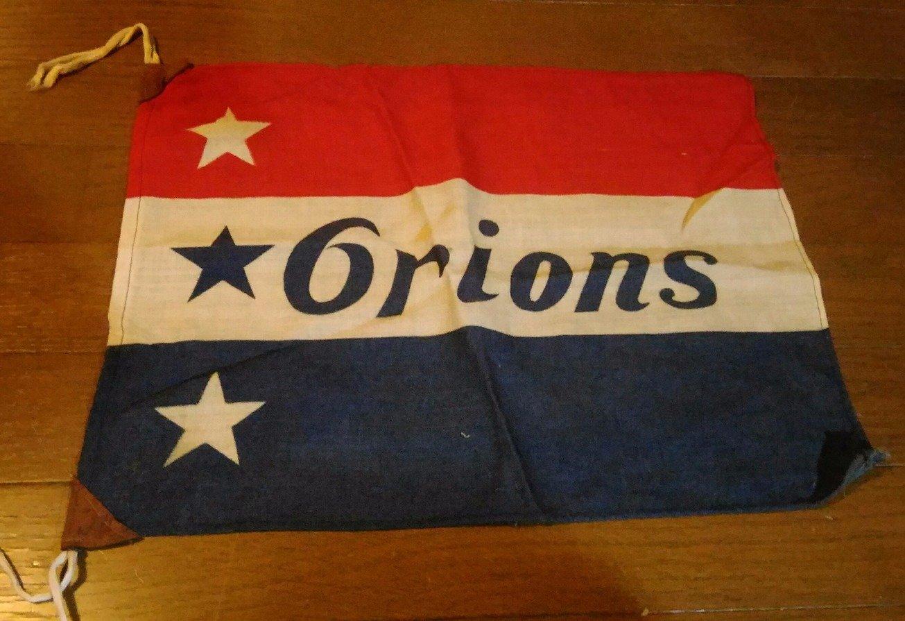 大毎オリオンズ 球団旗
