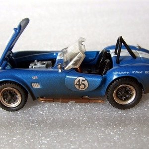 1:18 CMR Shelby Cobra 427 semi competition racing 1965 Blue//White