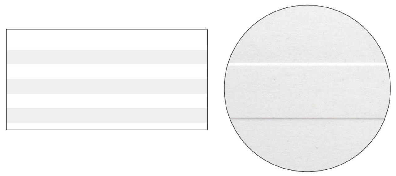 no.5 ■紙:紀州再生上質 ■加工:エンボス (グレー部分が凸)