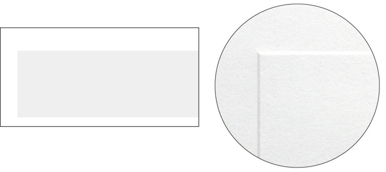 no.6 ■紙:ダイヤバルキー ■加工:エンボス (グレー部分が凸)