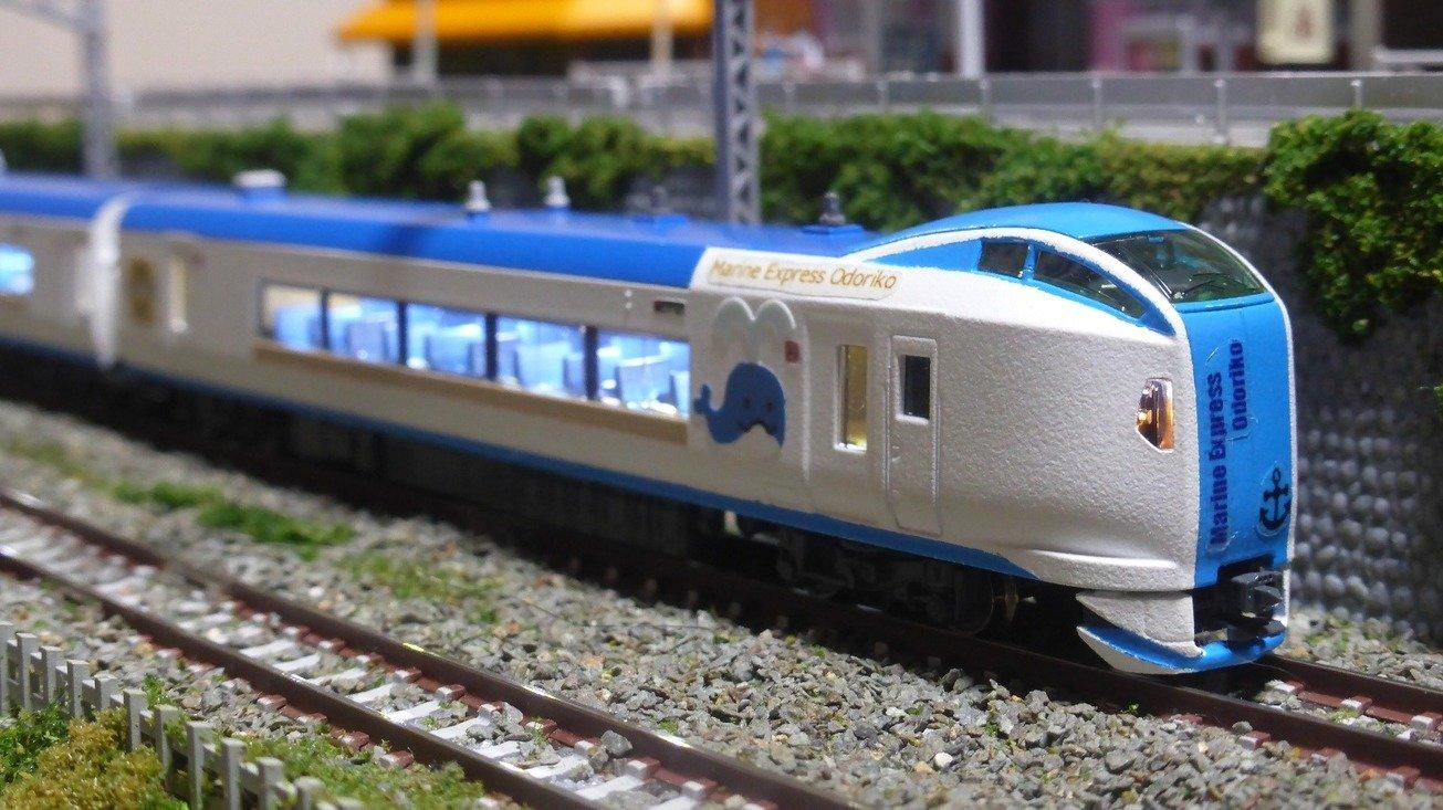 E259系 マリンエクスプレス踊り子 オリジナル塗装 Nゲージ 所有車両 みんなの鉄道模型コレクション By