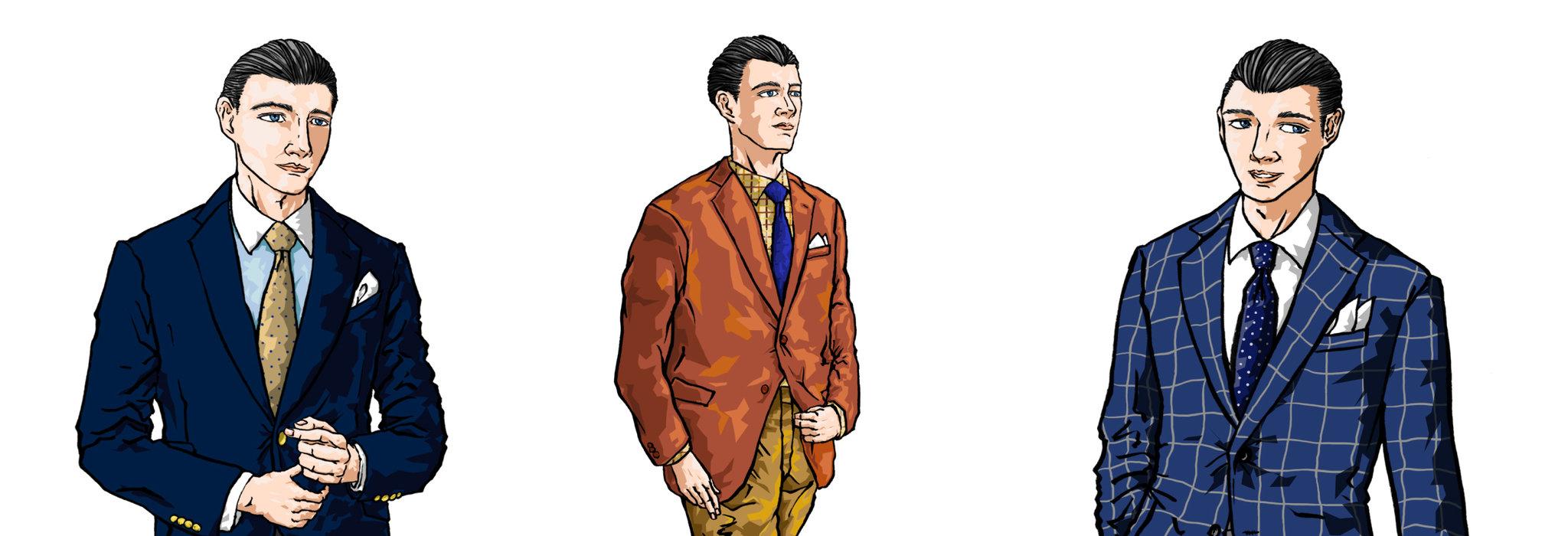 色と柄から考える、ジャケパン姿をよりカッコ良く見せるコツ。_image