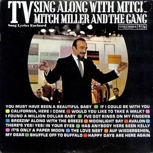 Mitch miller tv sing along with mitch  28cl1628 29