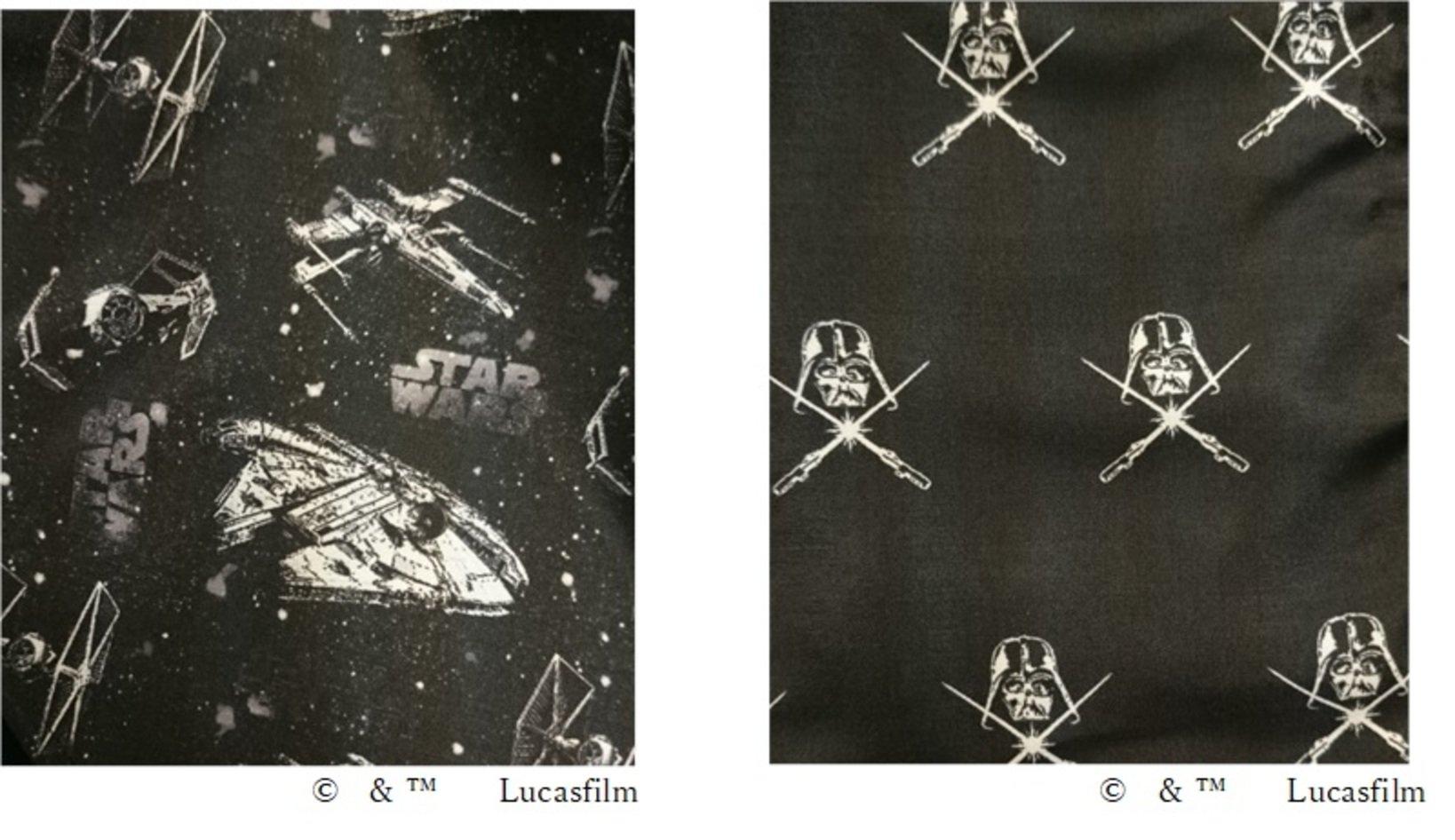 左:ビークルデザイン 右:「ダース・ベイダー」デザイン