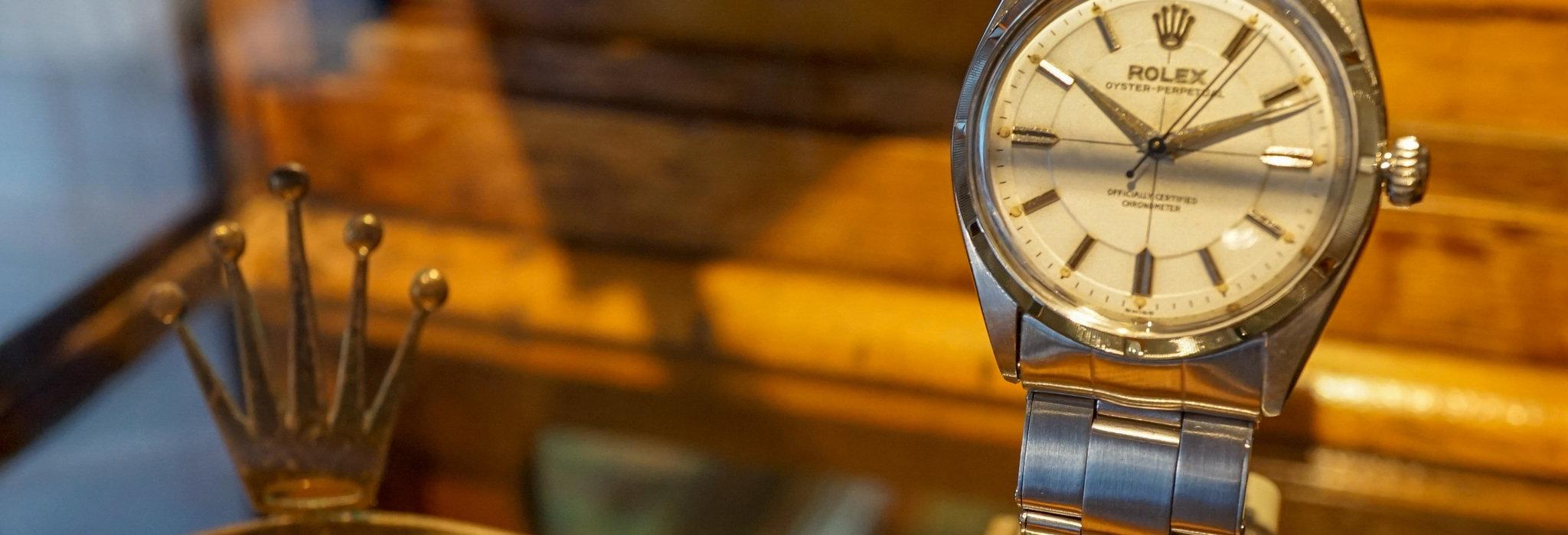 見るべきはケースコンディション?ケアーズで初めてのアンティーク時計を選ぶ_image