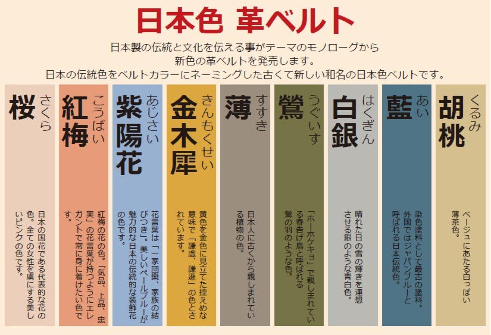 日本色意味