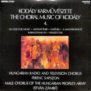 Kodaly the choral music of kodaly 4.  28slpd 12555 29