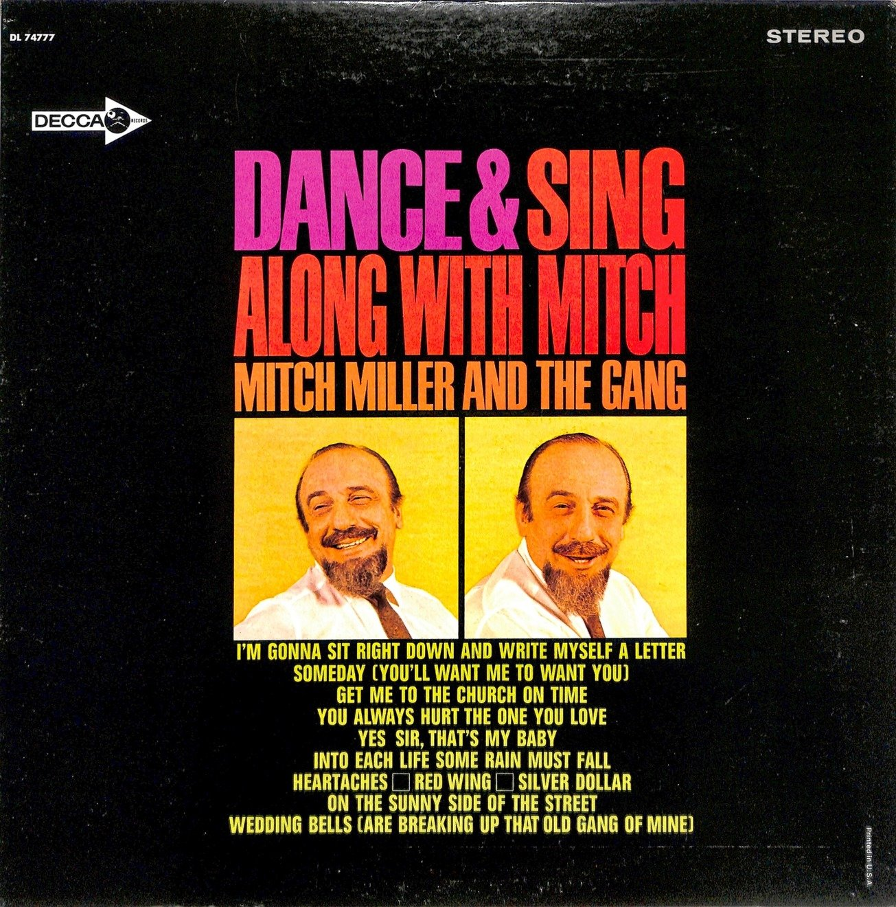 Mitch miller dance and sing along with mitch  28dl 74777 29