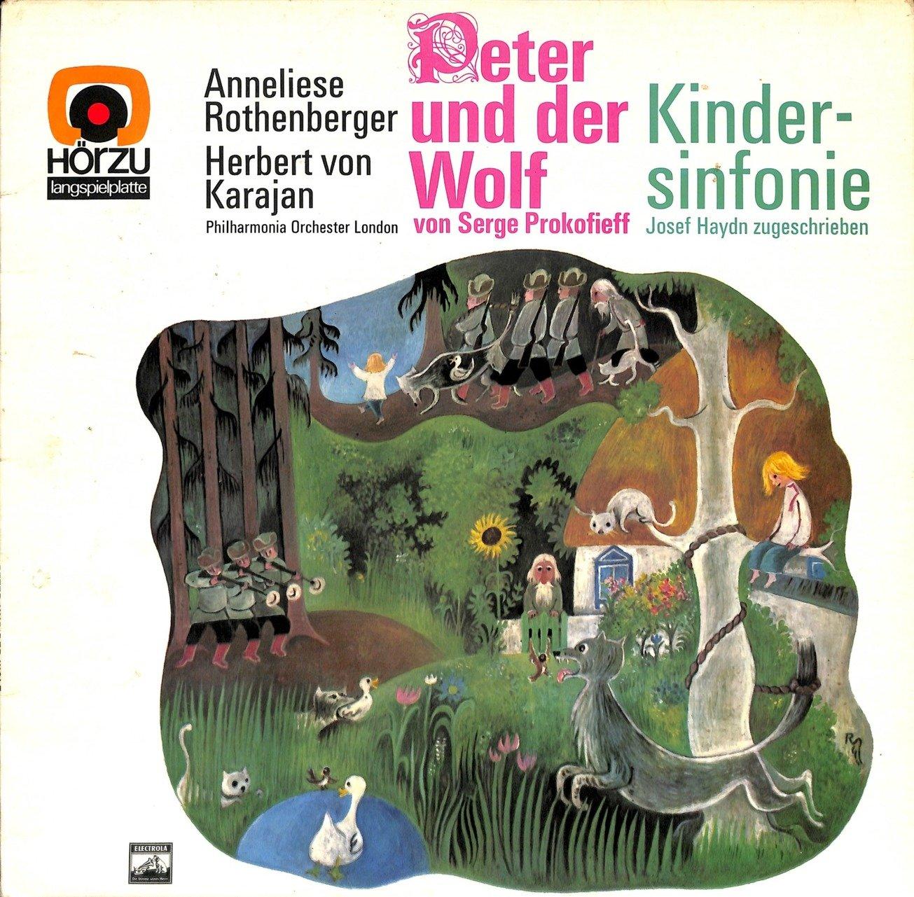Annaliese rothenberger peter und der wolf 2c kindersinfonie  28shze 243 29