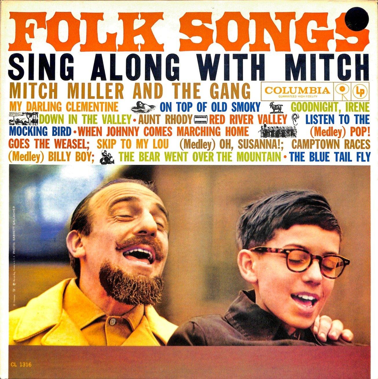 Mitch miller folk songs  28cl 1316 29