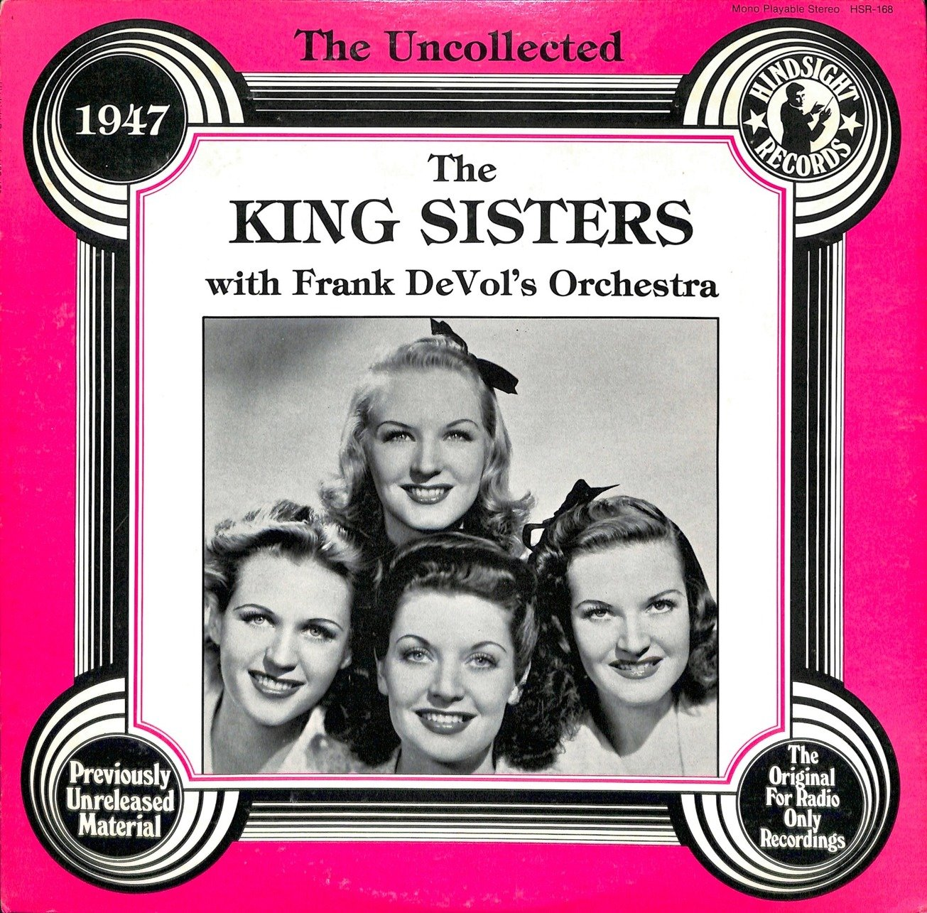 The king sisters the king sisters with frank devol 27s orchestra  28hsr 168 29