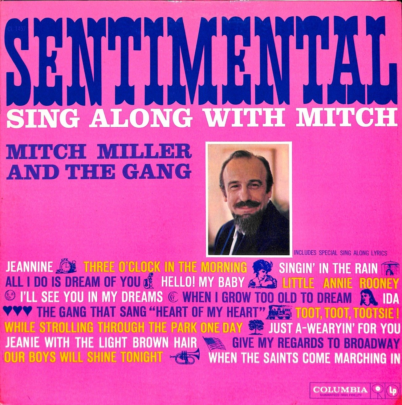 Mitch miller sentimental  28cl 1457 29