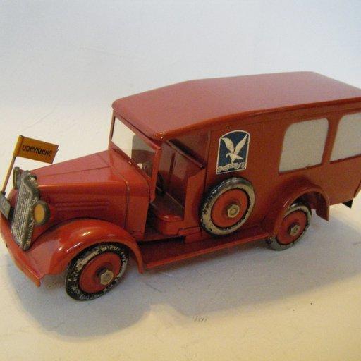 21 Cm Citroen 23 Truck Lkw Vintage Toy