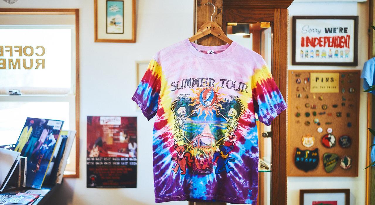Tシャツから紐解くグレイトフル・デッドと60年代音楽カルチャー_image