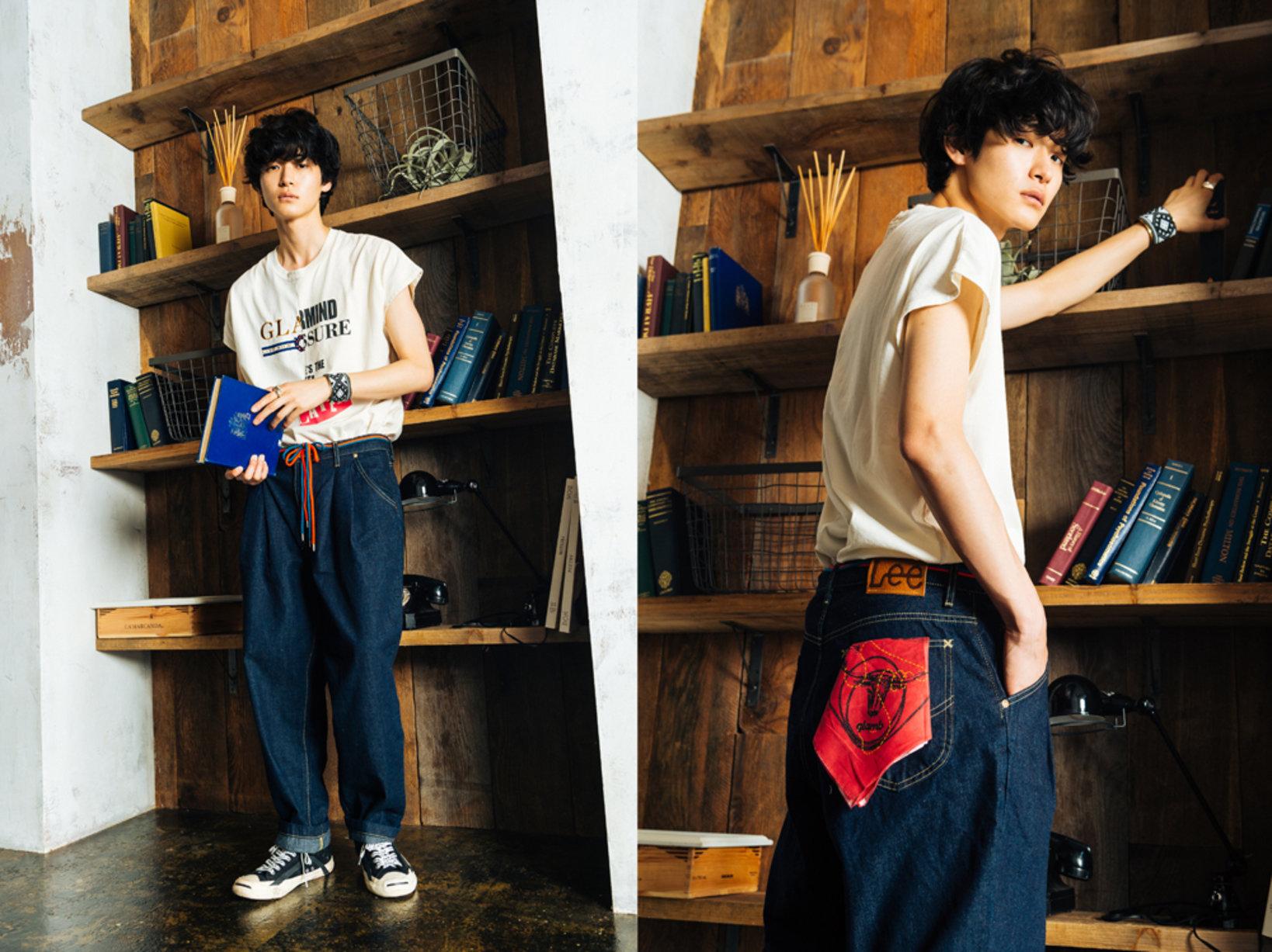 着用モデルを務めたのは絶妙な人気を誇るEiji Fukui