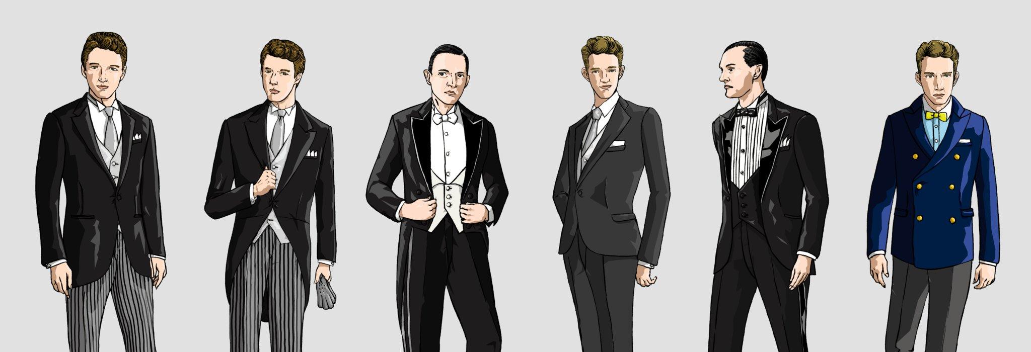 ゼロベースから整理する礼装(礼服)。具体的な着こなしを理解する_image