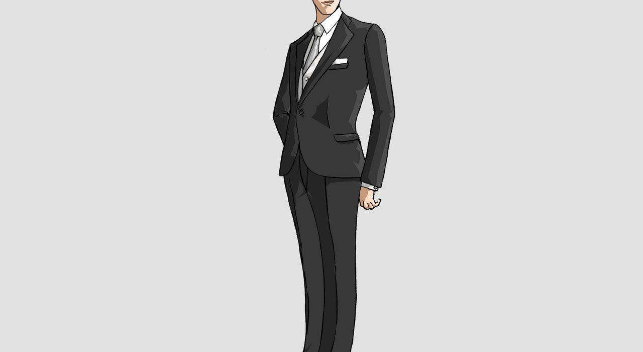 略礼装としてダークスーツを着用する際のポイント_image
