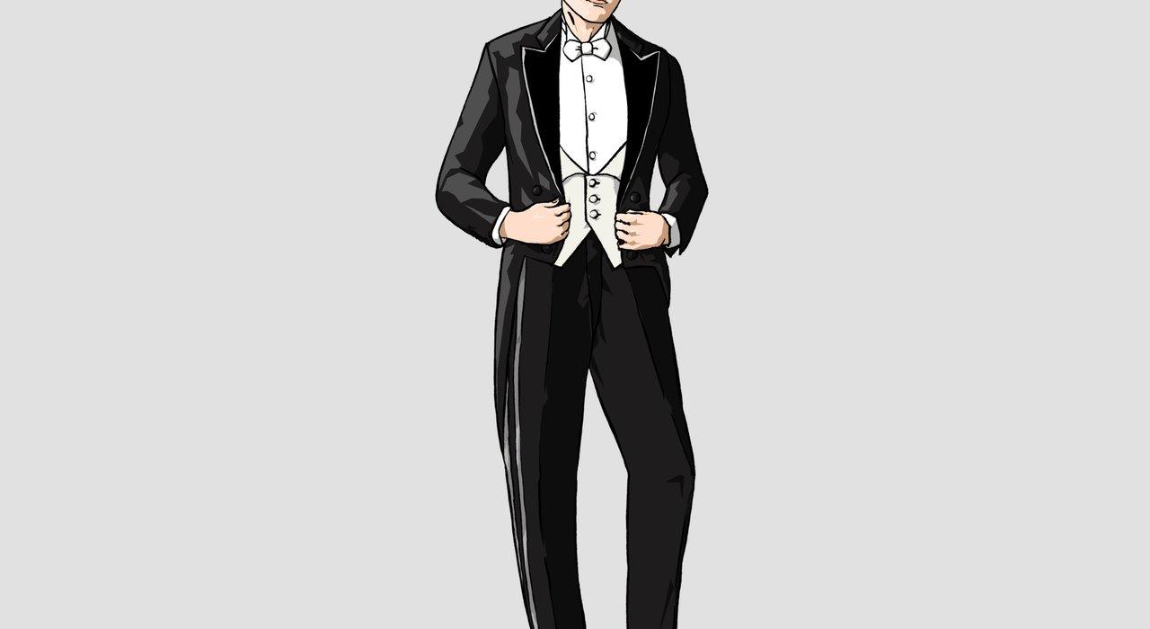 宴の正礼装・イブニングドレスコート(燕尾服)の装いを理解する_image