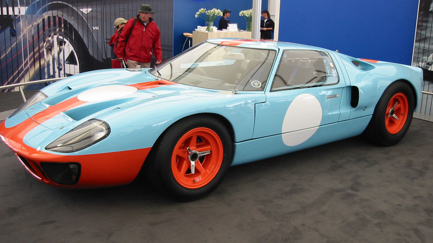GT40 at Goodwood 作者 edvvc from London, UK CC BY 2.0