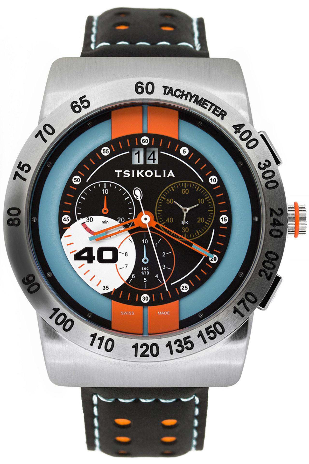 TSIKOLIA GT-40 STEEL