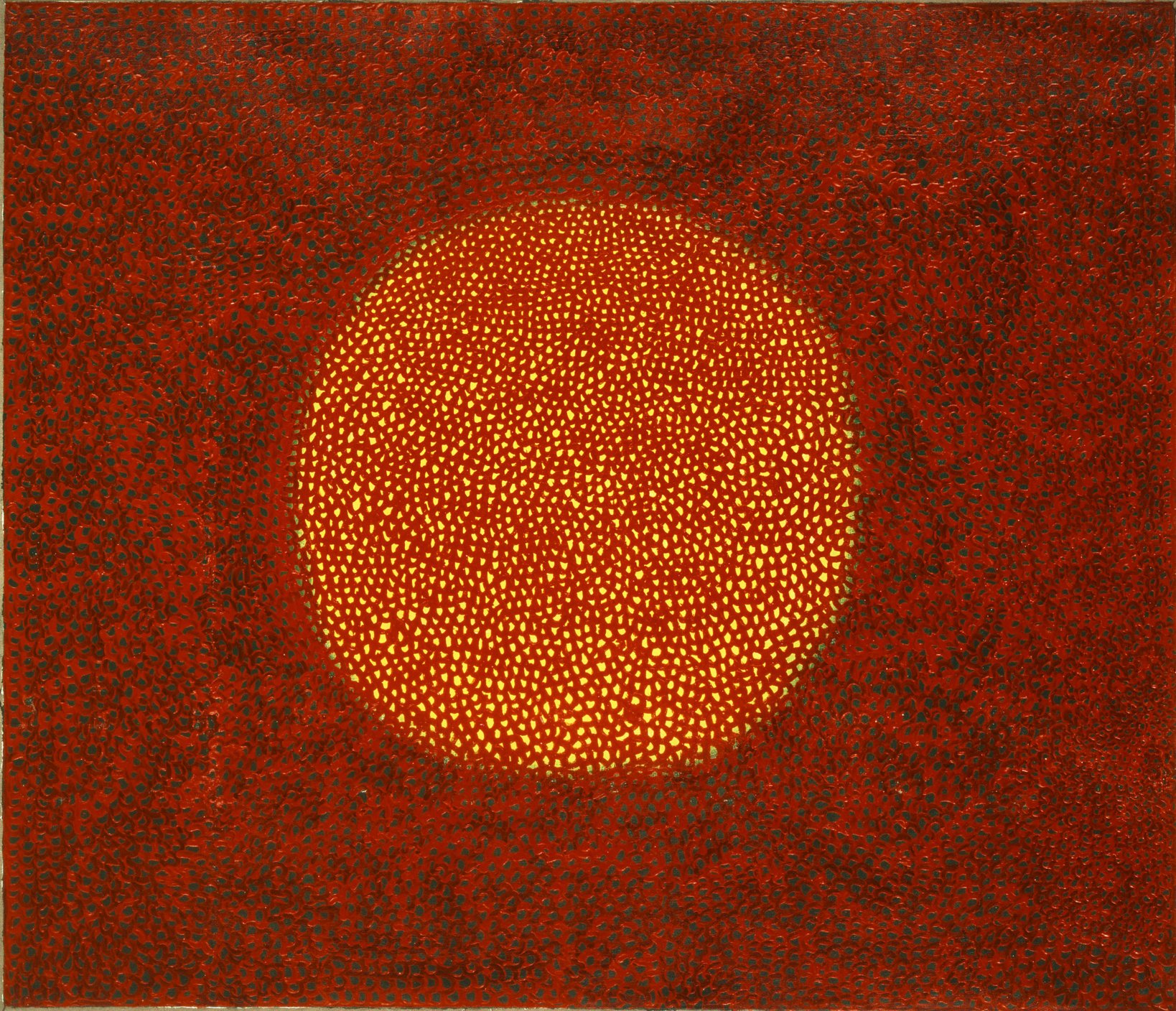 """Infinity Net"" 1965 Oil on canvas 132cm×152cm (c) YAYOI KUSAMA"