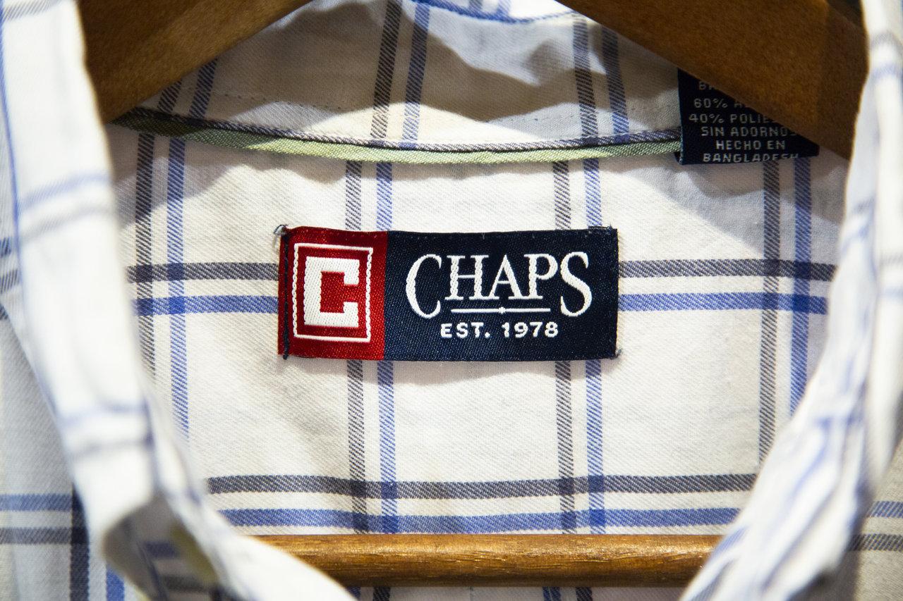 1971年に設立した子会社「CHAPS」。Ralph Laurenの低価格ラインとしてスタート。