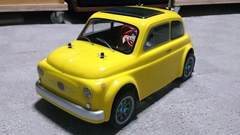 Abc Hobby 1 10rc Fiat500 イタリア車 ミニカー Muuseo
