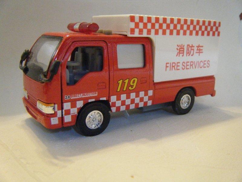 unknown maker china isuzu elf fire truck fire services スバル