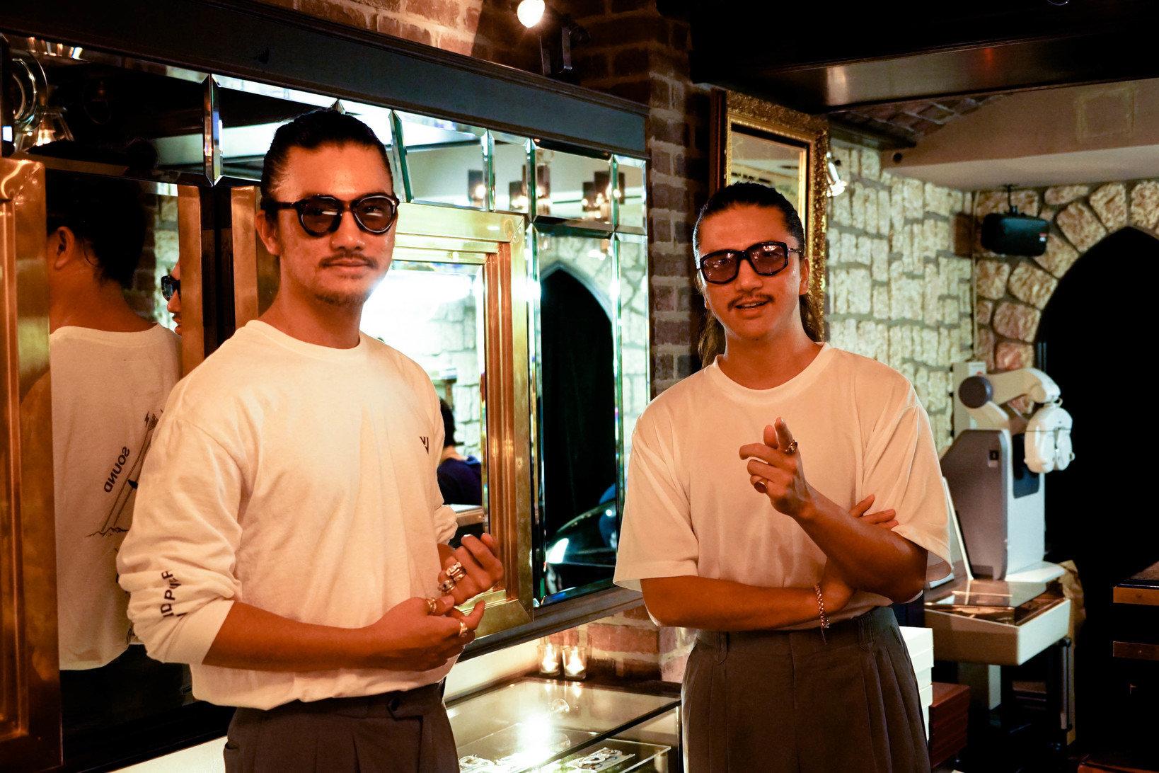 ソラックザーデオーナーの岡本龍允氏(左)と岡本竜氏(右)
